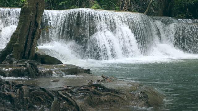 美麗的瀑布和溪流 - 自然奇觀 個影片檔及 b 捲影像