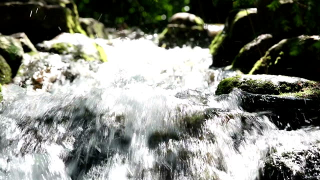 beautiful cascading + audio - rock face stock videos and b-roll footage