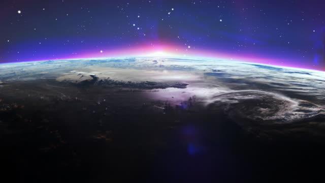 Beautiful clean Earth Sunrise.