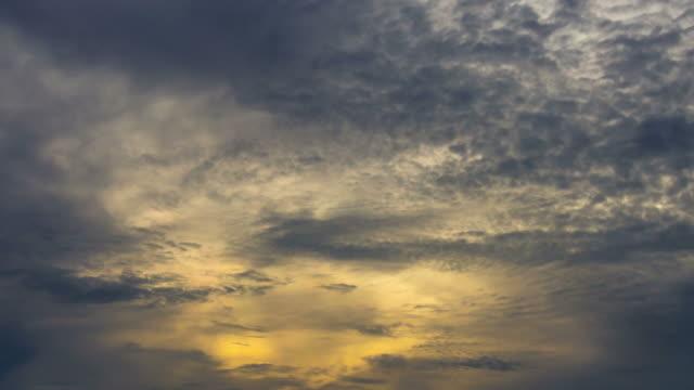 ฺBeautiful cloud in sunrise.