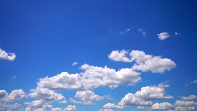 beautiful cloudscape background - real time stock videos & royalty-free footage