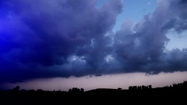 Beautiful cloudscape in the nature