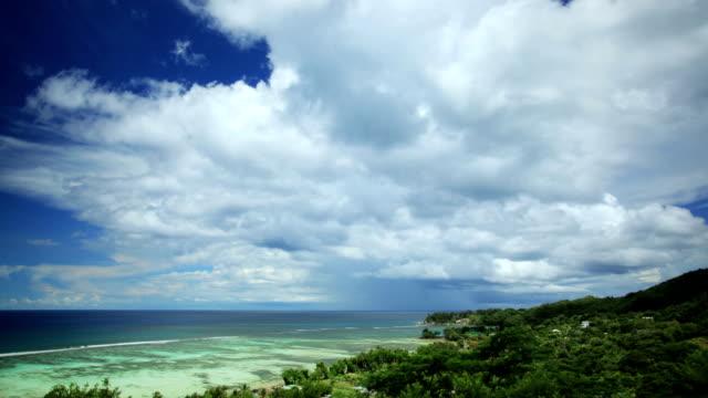 Beautiful cloudscape time lapse
