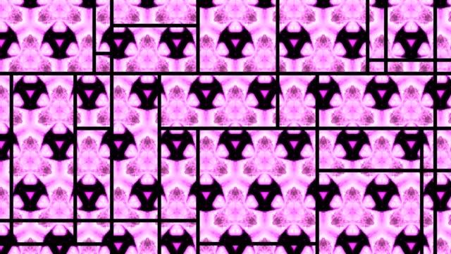 Schöne bunte rosa abstrakte Wallpaper in Bewegung