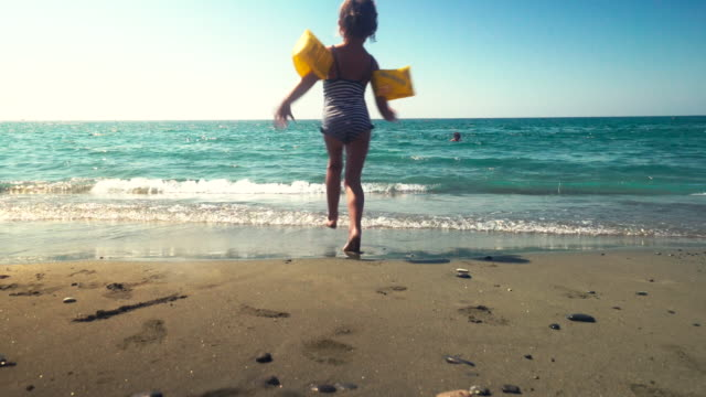 beautiful day on beach in cyprus - republic of cyprus stock videos & royalty-free footage