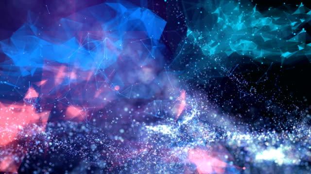 schöne defokussierte partikel hintergrund - design stock-videos und b-roll-filmmaterial