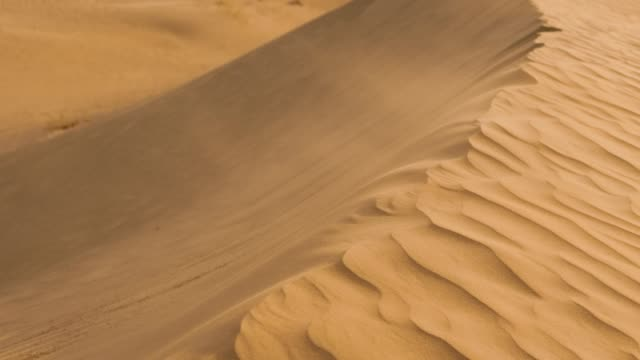 beautiful desert landscape - sand stock videos & royalty-free footage