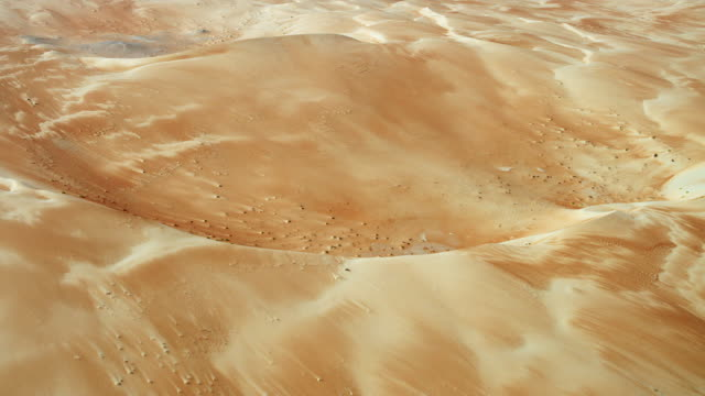 Beautiful Desert Textures In Empty Quarter