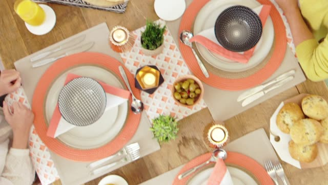 beautiful dining table - dining table stock videos & royalty-free footage