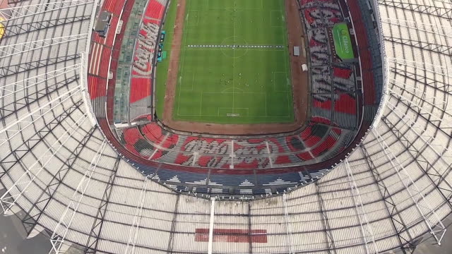 beautiful estadio azteca - commercial sign stock videos & royalty-free footage