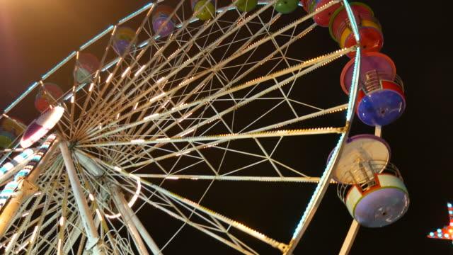 Beautiful Ferris Wheel at Night