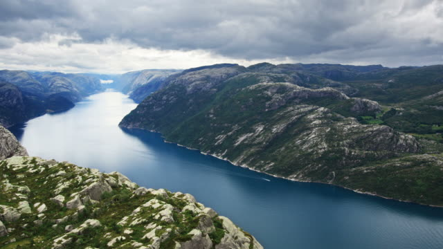 Beautiful Fjord Scenery