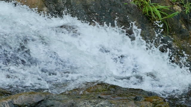 Beautiful Flowing Stream - water background