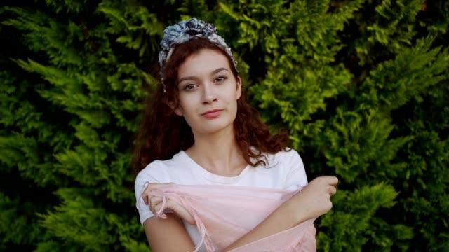 beautiful girl - 18 19 years stock videos & royalty-free footage