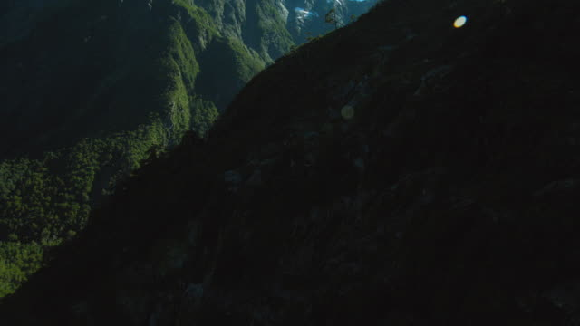 beautiful glacial valley in patagonia - patagonia chile stock videos and b-roll footage