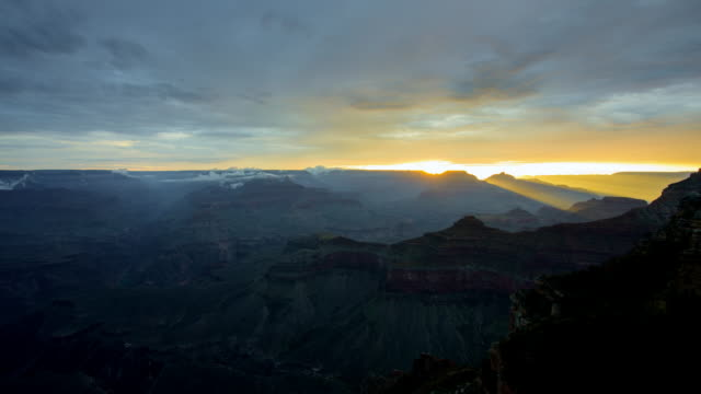 Beautiful Grand Canyon National Park sunrise