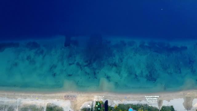 beautiful greek islands and beautiful blue sea - greek islands stock videos and b-roll footage