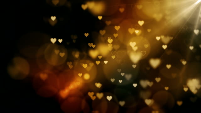 beautiful hearts background loopable - love stock videos & royalty-free footage