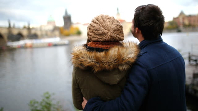 beautiful honeymoon in prague - prague stock videos & royalty-free footage