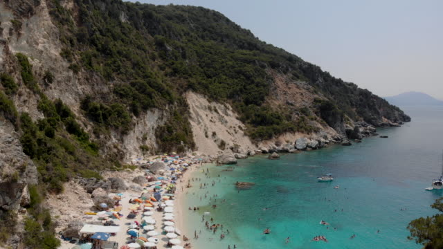 beautiful ionian island - tranquillising stock videos & royalty-free footage
