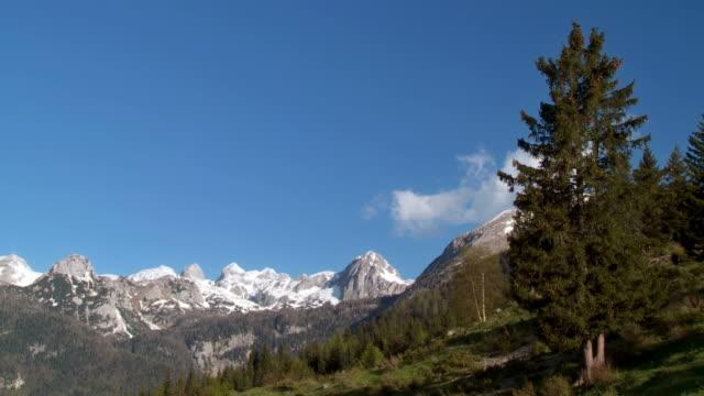 hd: beautiful julian alps - julian alps stock videos and b-roll footage