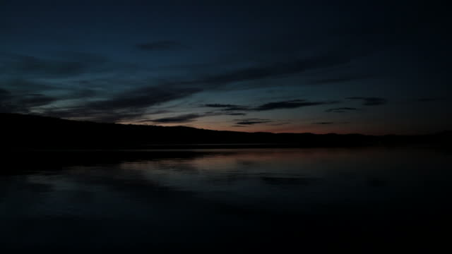 Beautiful Lake at Sunset, Quebec, Canada