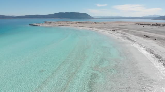 Beautiful Lake Salda with White Shore Similar to Maldives