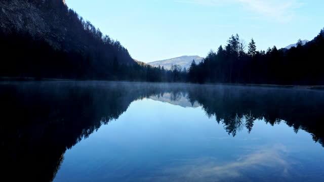 stockvideo's en b-roll-footage met prachtig landschap en meren in bluntautal, salzburger land, oostenrijk, in de herfst - oostenrijkse cultuur