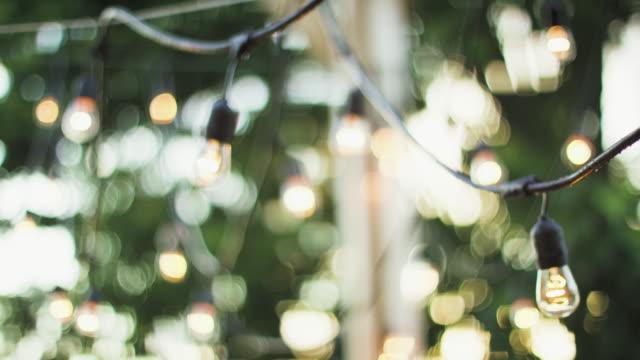 vídeos y material grabado en eventos de stock de hermosa iluminación - veranda