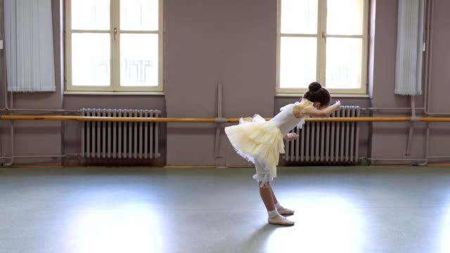 beautiful little ballet performer - solo performance stock videos and b-roll footage