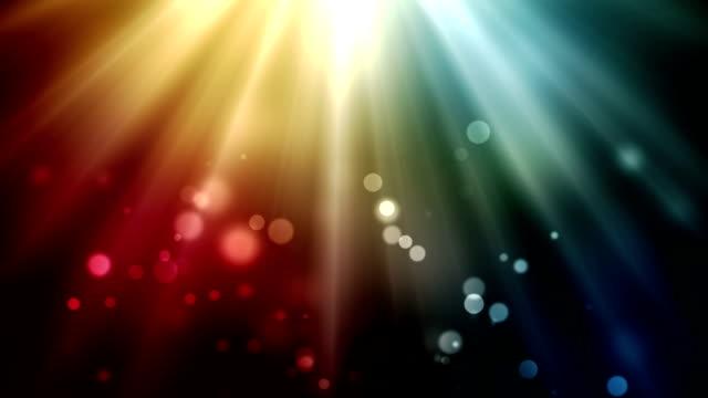 Beautiful magic background loop