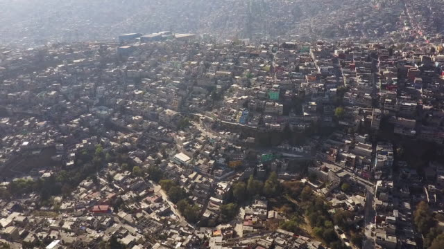 Beautiful Mexico City, aerial