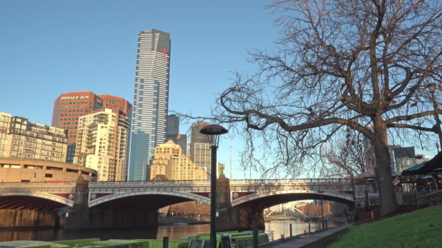 Beautiful morning, Melbourne, Australia