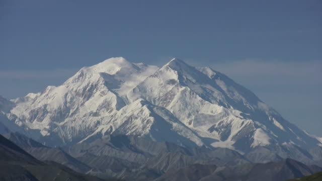 beautiful mount mckinley alaska - denali national park stock videos & royalty-free footage