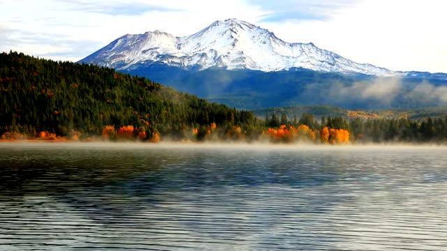 beautiful mountain and lake - tranquility stock videos & royalty-free footage