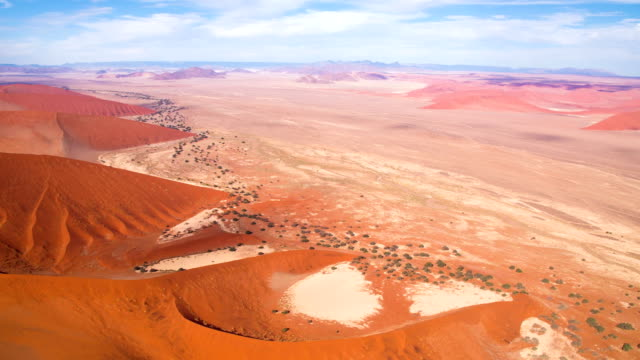 aerial beautiful namibian desert - namibian desert stock videos and b-roll footage