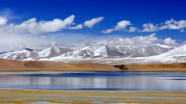 beautiful natural scenery in tibet - tibetan plateau stock videos & royalty-free footage