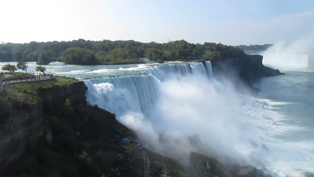 beautiful niagara falls - niagara falls stock videos & royalty-free footage