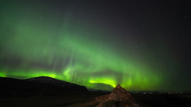 beautiful northern light - manitoba stock videos & royalty-free footage