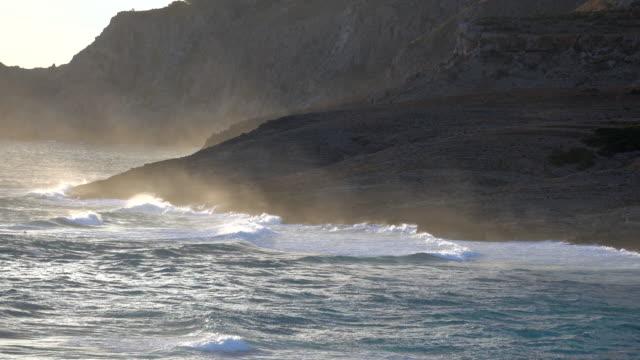 beautiful ocean - cliff stock videos & royalty-free footage