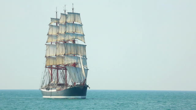 beautiful old sailing barque