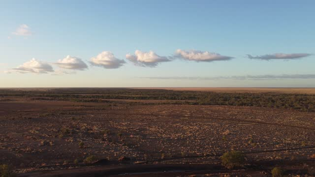 beautiful outback queensland cloud formation - arid stock videos & royalty-free footage