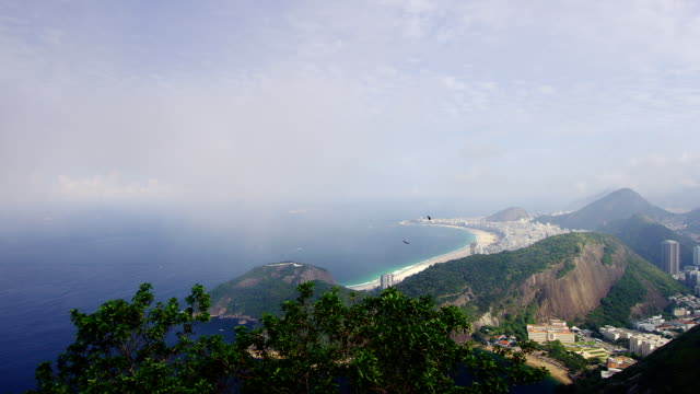 Beautiful outlook of Copacabana Rio SHOT ON RED EPIC