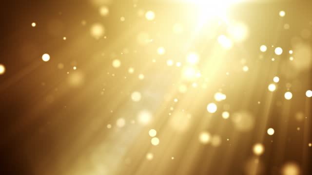 4k beautiful particles - golden - gala stock videos & royalty-free footage