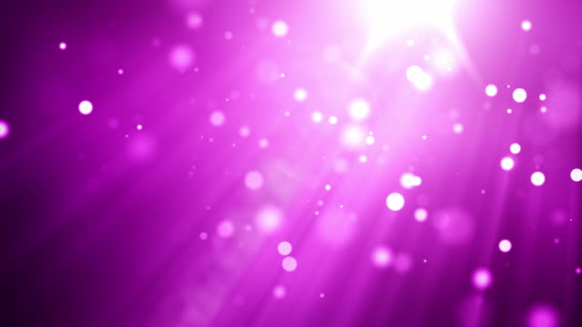 4k beautiful particles - vibrant pink purple - pink background stock videos and b-roll footage