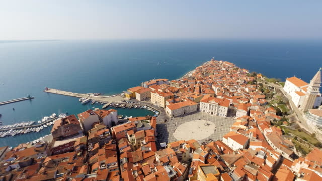 HD HELI: Beautiful Piran Peninsula