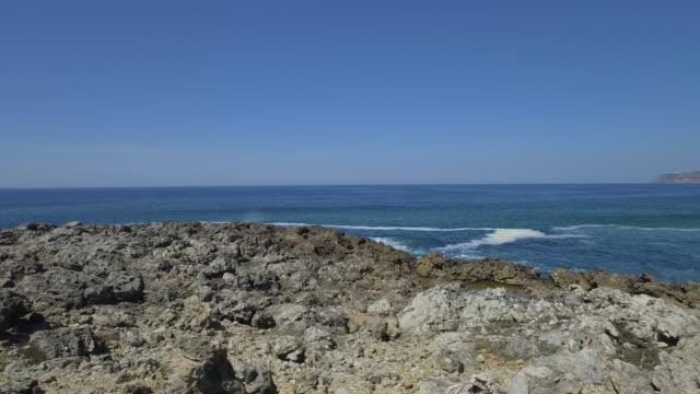 ポルトガルの美しい海岸線 - カスカイス点の映像素材/bロール