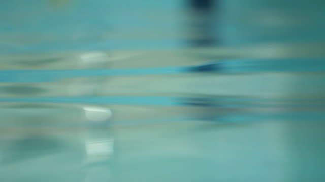 beautiful reflection of swimming pool on water surface - swimming pool stock videos and b-roll footage