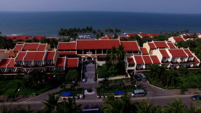 beautiful resort in hoi an, vietnam - urlaubsort stock-videos und b-roll-filmmaterial