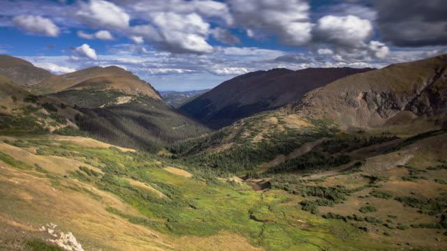beautiful rocky mountain scene - time lapse - infestation stock videos & royalty-free footage